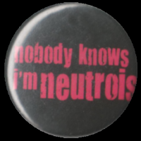 Nobody knows I'm neutrois