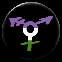All-Gender-Symbol genderqueer*farben
